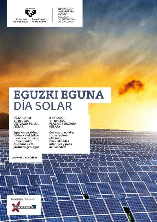 El Ayuntamiento de Eibar se suma a la celebración del Día Internacional del Sol