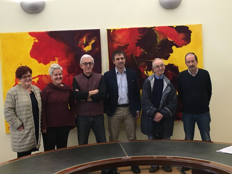 El Ayuntamiento de Eibar y la Plataforma Vasca para la Querella contra los crímenes del franquismo adoptan un acuerdo para pedir justicia por las víctimas de la dictadura