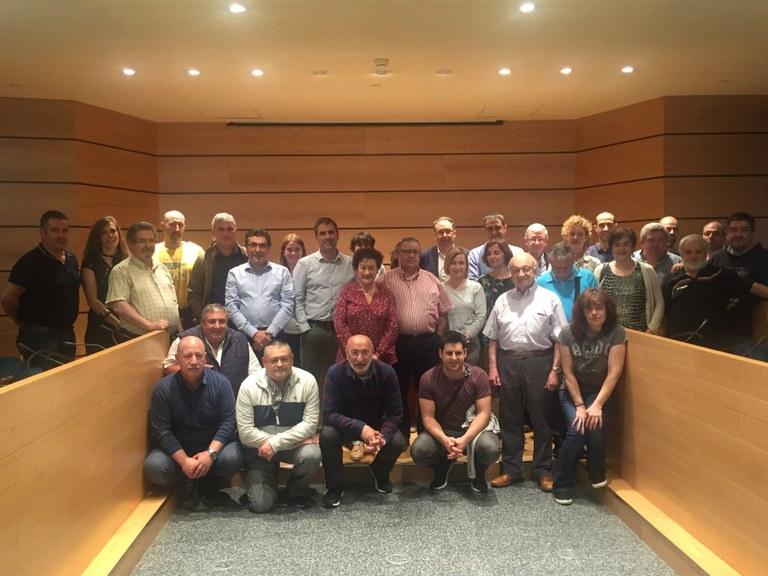 El Ayuntamiento destina este año 368.702 euros a subvencionar más de medio centenar de actividades culturales, deportivas, festivas y de fomento del euskera de los colectivos locales