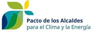 Logotipo Pacto de los Alcaldes para el Clima y la Energía.