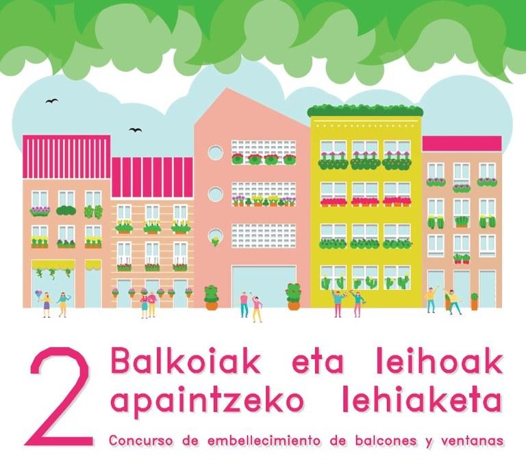 El Ayuntamiento repartirá 400 flores para convocar, por segundo año consecutivo, el concurso de embellecimiento de balcones y ventanas