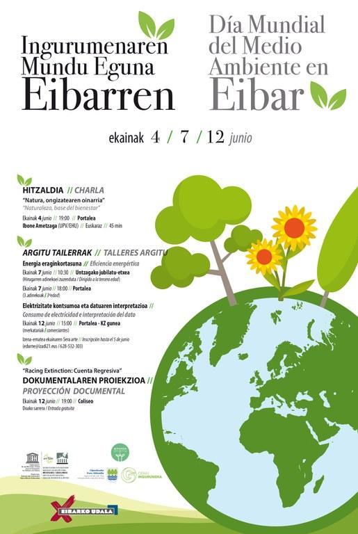 El Ayuntamiento se suma al Día Mundial del Medio Ambiente con la celebración de diversas actividades para sensibilizar a la ciudadanía