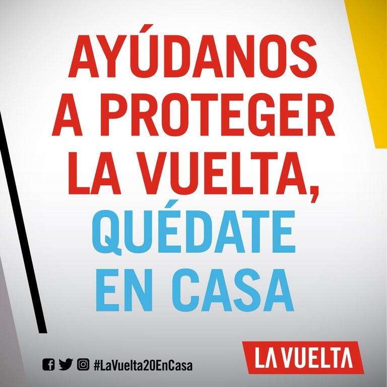 Eslogan de la 75 edición de la Vuelta a España.