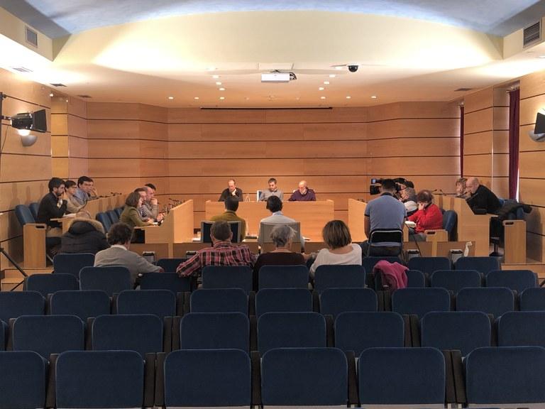 El Pleno aprueba el proyecto para reanudar las obras del edificio multifuncional de Errebal
