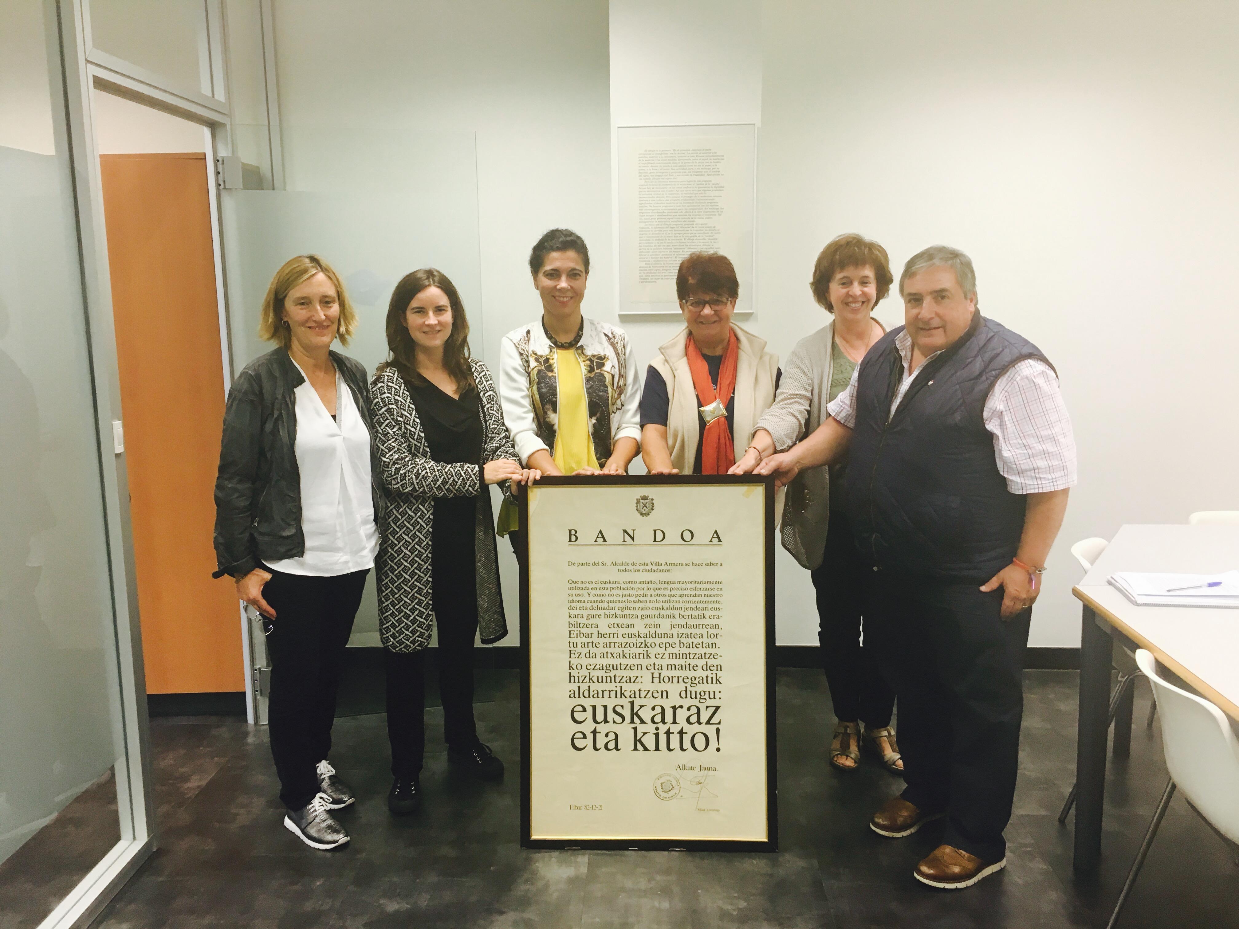 """El Pleno del Ayuntamiento de Eibar aprueba por unanimidad el """"Plan Estratégico del Euskera 2016-2025. Ciudad de Eibar."""""""
