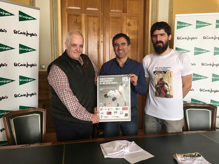Eibar acogerá mañana sábado la II Copa de España de Jiu Jitsu