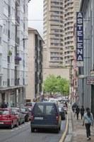 En enero saldrá a licitación la obra de consolidación estructural y restauración de la fachada del edificio municipal de Isasi adosado al frontón Astelena