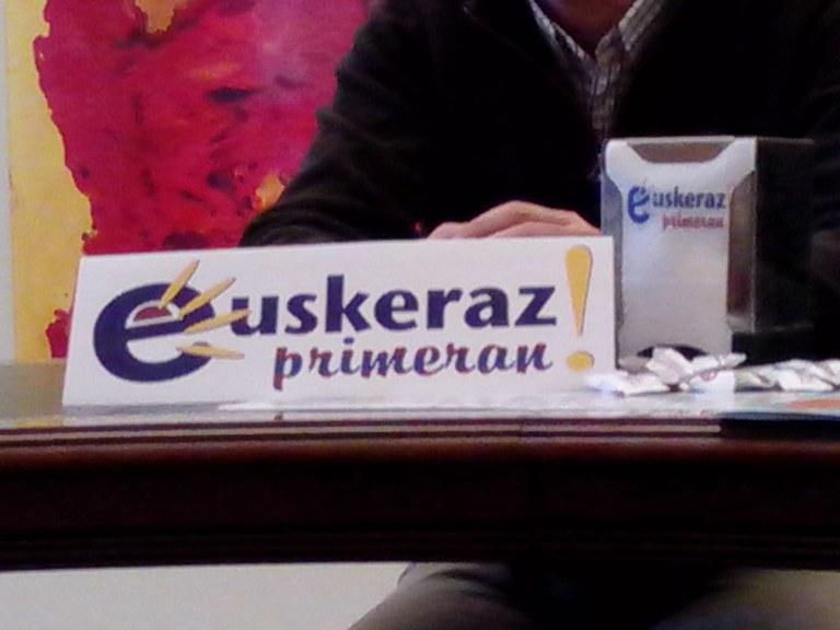 """En martxa la campaña """"Euskeraz Primeran!"""""""""""