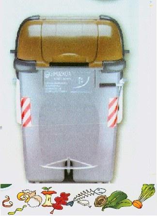 Inicio de colocación de los contenedores de la recogida selectiva de biorresiduos.