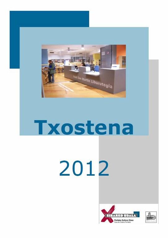 La Biblioteca presenta la memoria 2012