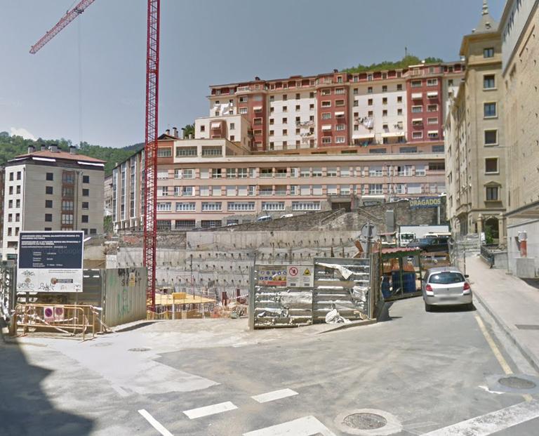 La Comisión Jurídica Asesora de Euskadi avala la decisión del Ayuntamiento de rescindir el contrato de la obra de Errebal a la empresa Dragados