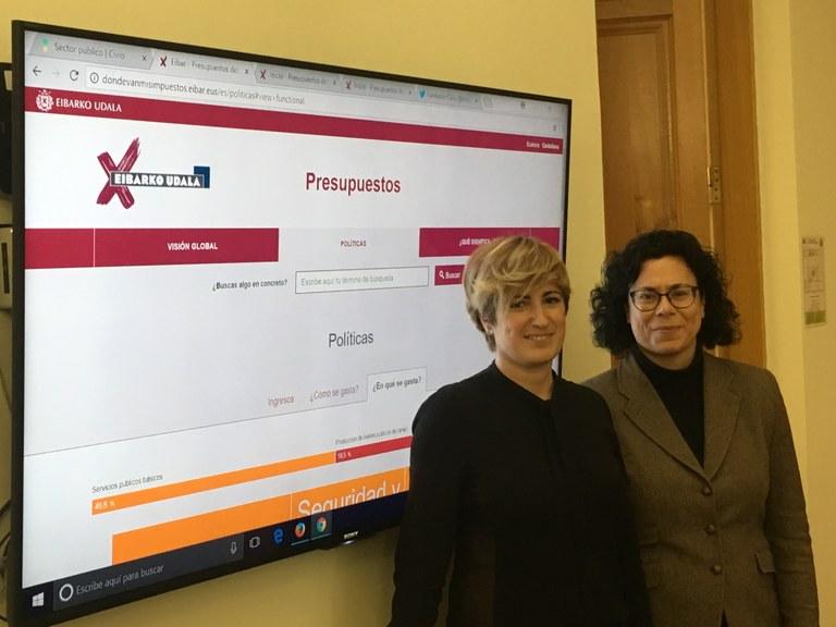 La información presupuestaria del Ayuntamiento de Eibar, abierta y accesible para toda la ciudadanía