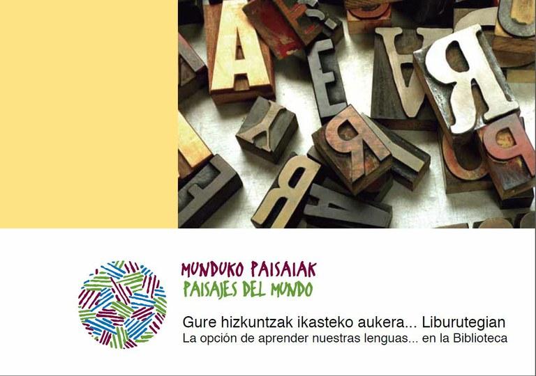 La opción de aprender nuestras lenguas... en la Biblioteca