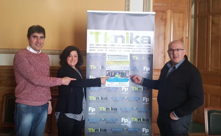 La VI Feria Ikasenpresa reunirá el próximo 16 de febrero en Eibar a 1.500 estudiantes de centros de FP de Gipuzkoa, Bizkaia y Araba