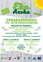 La VII Semana Ecológica de Debabarrena tendrá lugar del 30 de septiembre al 13 de octubre