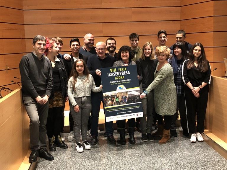 La VIII Feria Ikasenpresa reunirá el 14 de febrero en Eibar a 2.000 estudiantes de centros de FP de Euskadi