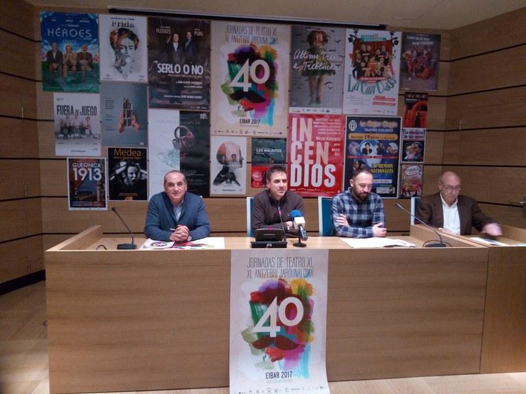 Las Jornadas de Teatro de Eibar cumplen 40 años