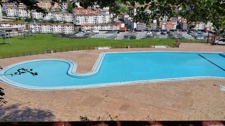 Las piscinas descubiertas de Ipurua inician este sábado la temporada veraniega
