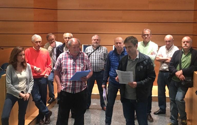 Las plataformas de pensionistas valoran de manera positiva la moción aprobada por la Junta de Portavoces en apoyo a las movilizaciones y reivindicaciones por unas pensiones dignas
