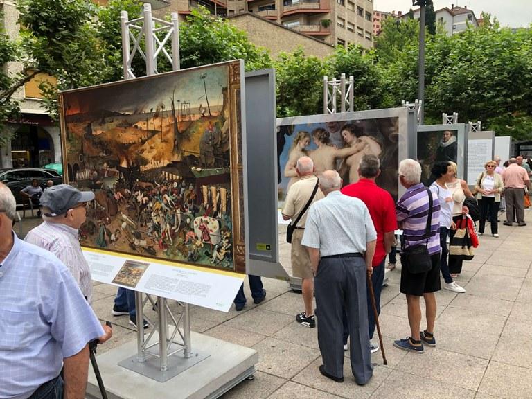 """Más de 40.000 personas han visitado la exposición """"El Museo del Prado en las calles"""""""
