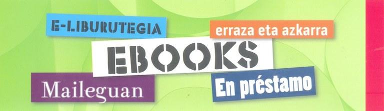 Nuevo servicio de préstamo de ebook-s en la Biblioteca