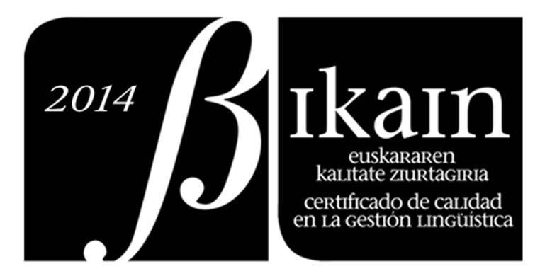 Objetivo: lograr el certificado Bikain