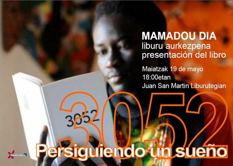 """Presentación del libro """"3052. Persiguiendo un sueño"""" y charla"""