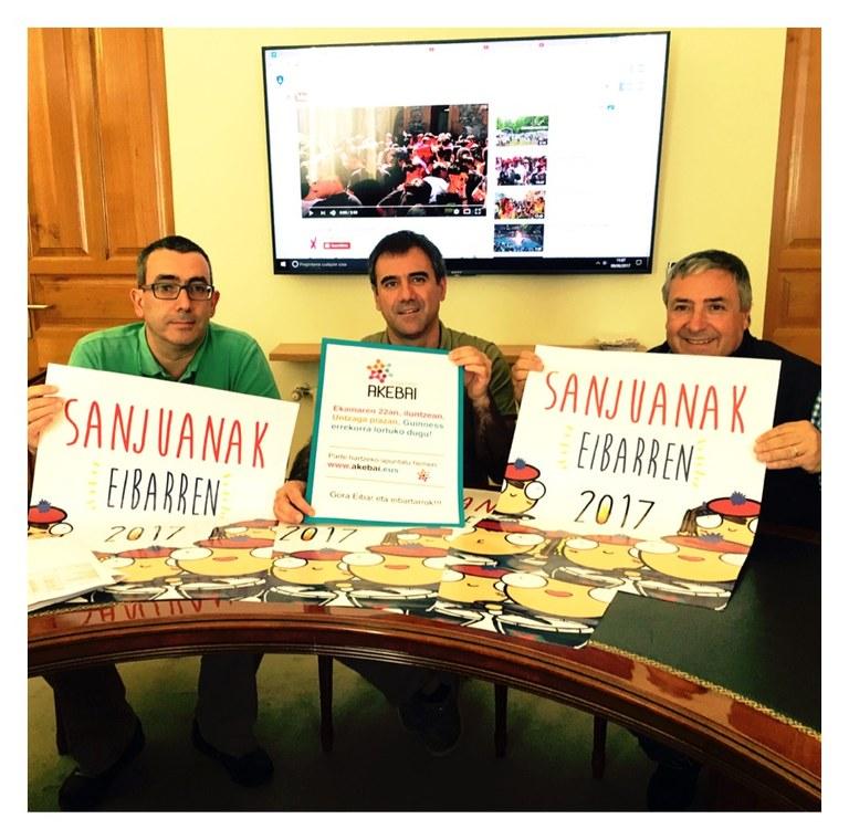 Presentado el programa de las fiestas de San Juan 2017