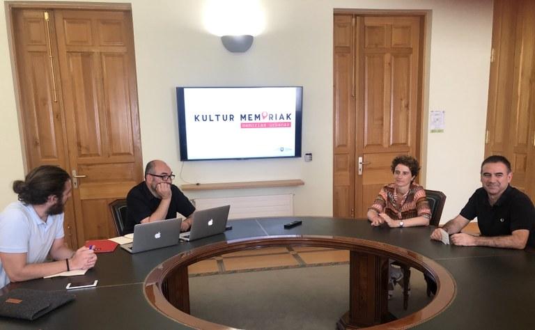 """Presentados los resultados del programa """"Kultur Memoriak, Memorias Urbanas de Eibar"""""""