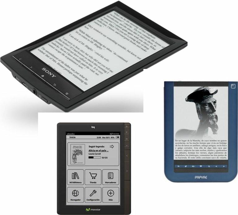 Préstamo de e-reader en sala