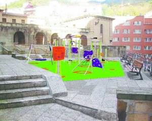 Renovados los Juegos infantiles del Parque de Zuloagas