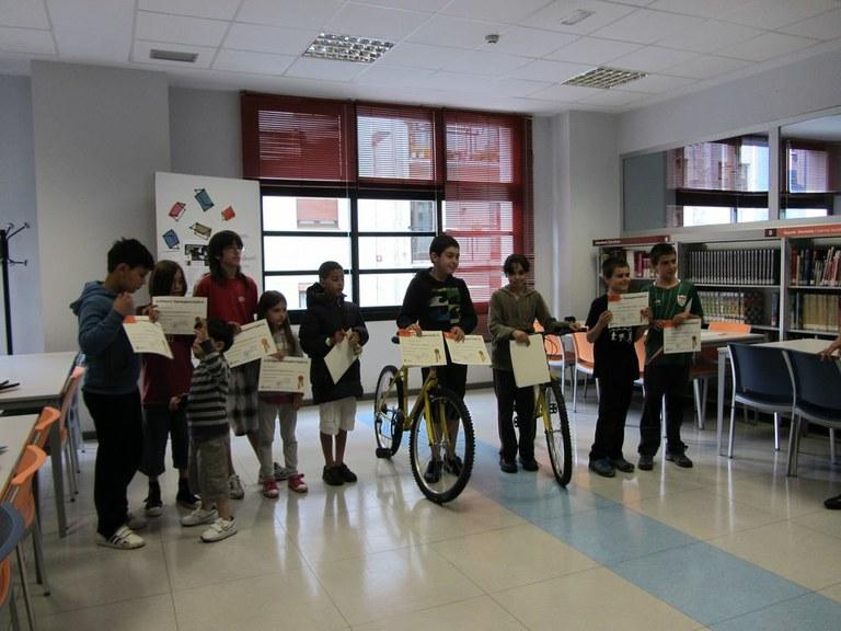 Reparto de premios del concurso Puz-lees