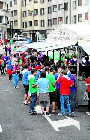 Se abre el plazo para la presentación de solicitudes para la colocación de txosnas en las Fiestas de San Juan 2012