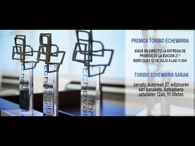 Sigue en directo la entrega de los Premios Toribio Echevarria