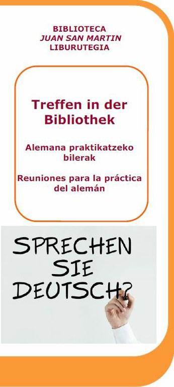 Treffen in der Bibliothek: reuniones para practicar alemán en la Biblioteca