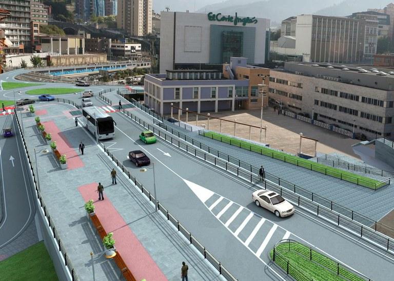 Una gran obra que mejorará los accesos rodados y peatonales