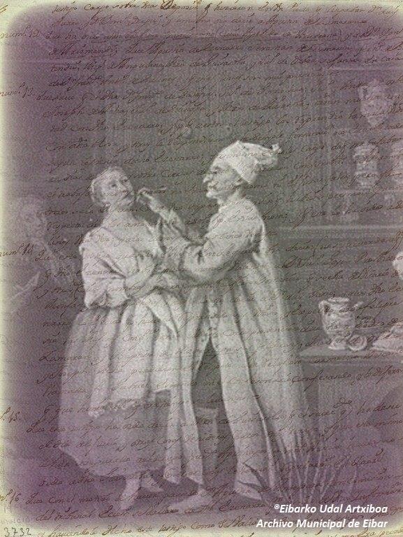 Ba al zenekien 1721ean Eibarreko botikariak bi auzokide salatu zituela, kopla batzuk idatzi eta abesteagatik, gonazale eta debekatutako substantzien mendekotasuna zela eta?
