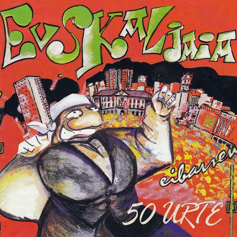 Euskal Jaia Eibarren. 50 urte: liburua eta dokumentala, biak batera salgai