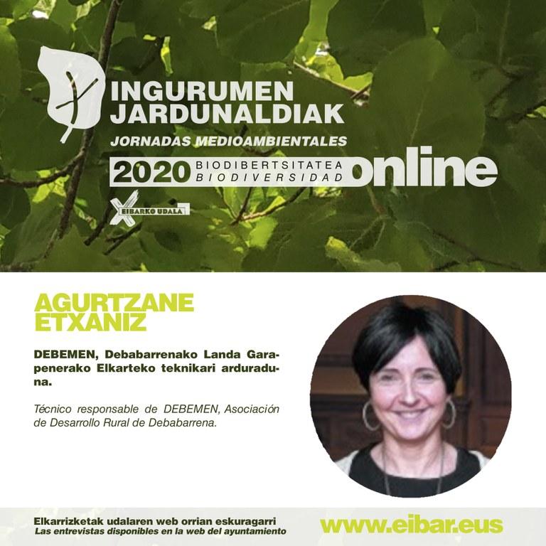 Agurtzane Etxaniz, Debemen, Debabarrenako Landa Garapenerako Elkarteko teknikari arduraduna.