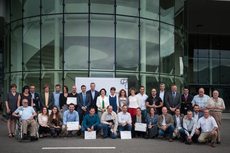 Addilanek eta KirolDNAk jaso dituzte Toribio Echevarria sariak, Euskadiko Ekintzailetza Berritzailearen sariak