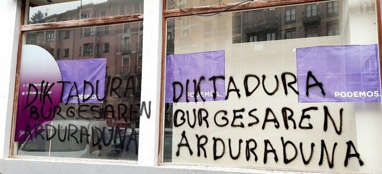 Argazkia: Podemos Ahal Dugu Eibar.