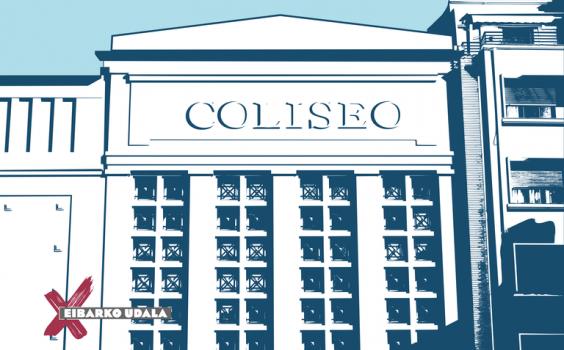 'Coliseoaren Laguna', jarduera kulturalentzat deskontu-txartelaren tarifa berriak sartu dira indarrean