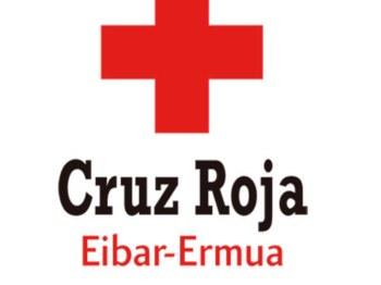Eibar-Ermua Gurutze Gorriko logotipoa.