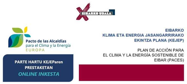 Klimarako eta Energia Jasangarrirako Eibarko Ekintza Plana.