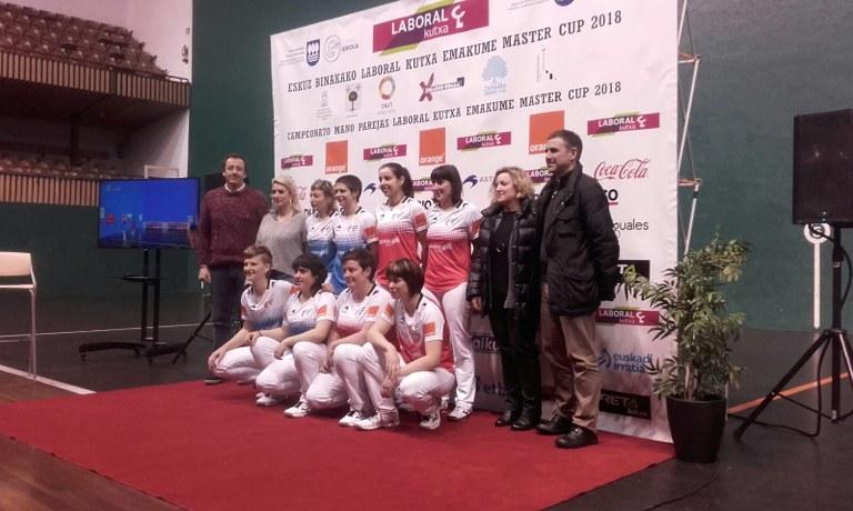 """""""Emakume Master Cup"""" pilota txapelketaren finala hartuko du Astelenak datorren igandean, martxoak 25"""