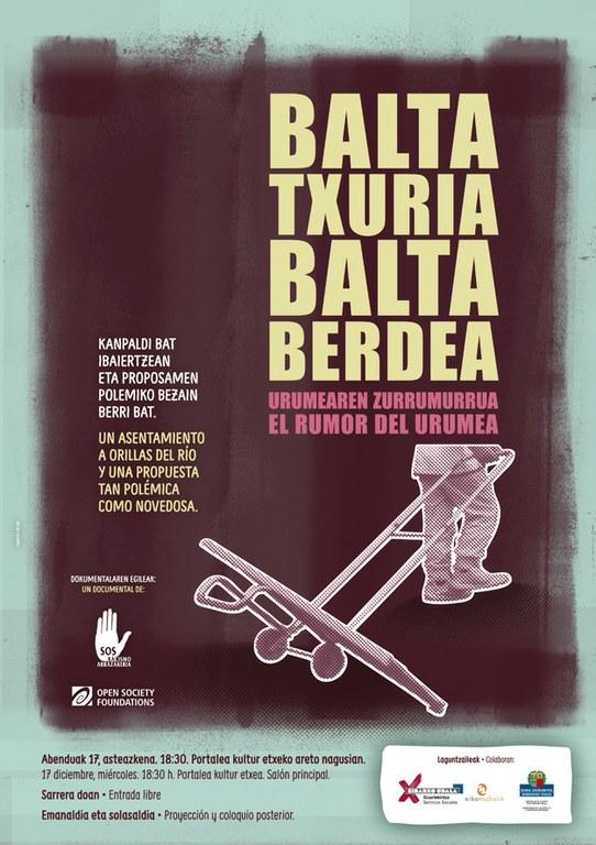 """Emanaldia eta solasaldia: """"Balta txuria. Balta berdea. Urumearen zurrumurrua"""""""