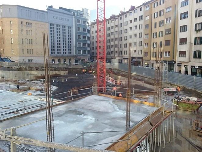 Hamaika enpresa lehiatuko dira Errebalgo eraikinaren proiektuan egiteke dauden obrak amaitzeko