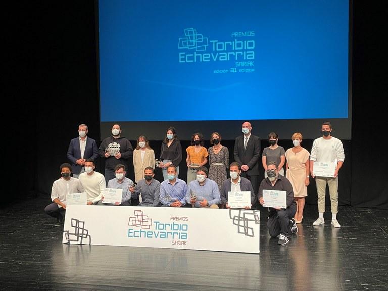 Aurtengo sarituen eta finalisten irudia.