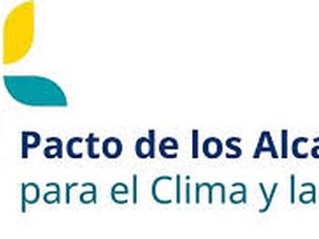 Alkateen klimari eta energiari buruzko itunaren logotipoa.