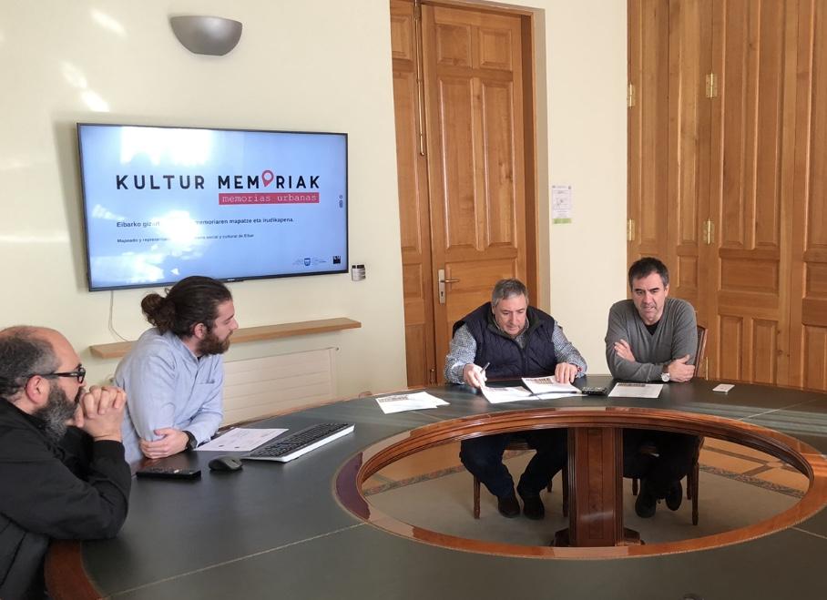 """""""Kultur memoriak"""" ekimenean hartuko du parte Eibarrek, ondare soziokulturala gordetzeko"""